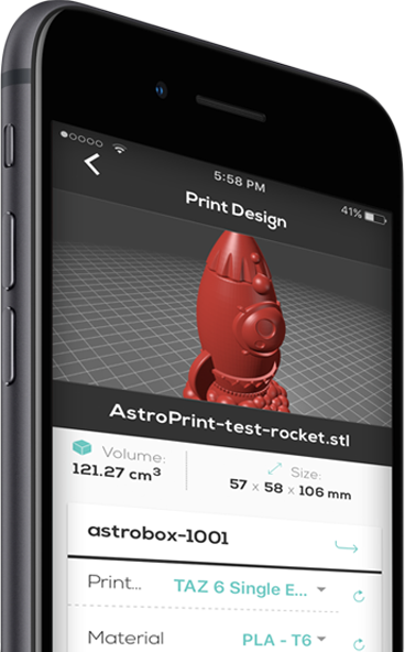 AstroPrint Mobile